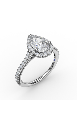 Fana Halo Engagement Ring, S3791 product image