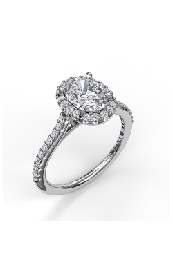 Fana Halo Engagement Ring S3792 product image