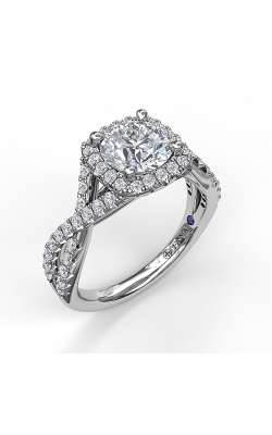 Fana Halo Engagement Ring, S3796 product image