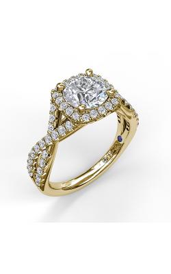 Fana Halo Engagement ring S3796 product image
