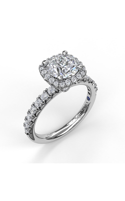 Fana Halo Engagement Ring, S3817 product image
