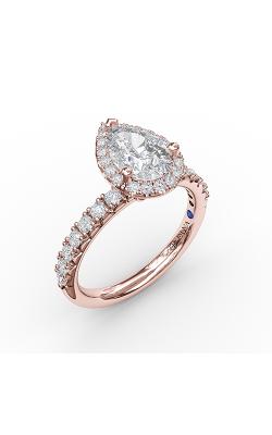Fana Halo Engagement ring S3820 product image