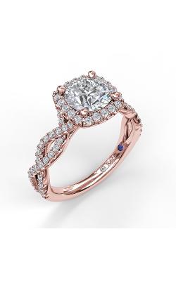 Fana Halo Engagement ring S3826 product image