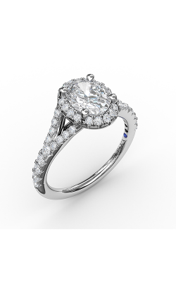 Fana Halo Engagement ring S3845 product image