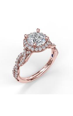 Fana Halo Engagement ring S3906 product image