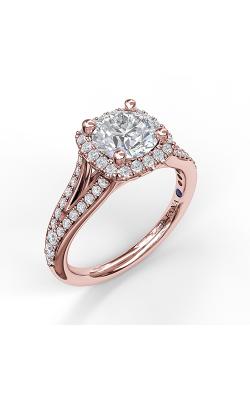 Fana Halo Engagement ring S3910 product image