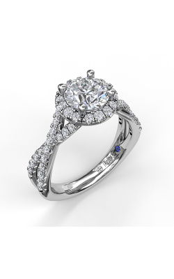 Fana Halo Engagement ring S3990 product image