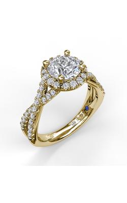 Fana Halo Engagement ring S3990 product image