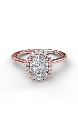 Fana Halo Engagement Ring S3043 product image