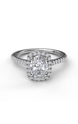Fana Halo Engagement Ring S3041 product image