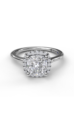 Fana Halo Engagement ring, S3044 product image
