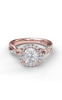 Fana Halo Engagement Ring S3077 product image