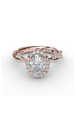 Fana Halo Engagement ring S3111 product image