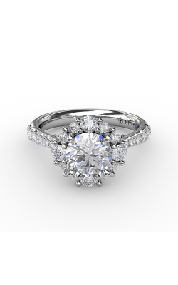Fana Halo Engagement Ring S3124 product image
