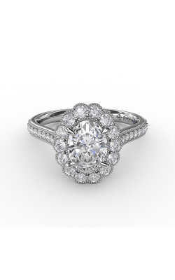 Fana Halo Engagement Ring S3204 product image