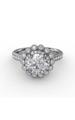 Fana Halo Engagement ring S3187 product image