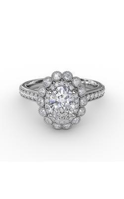 Fana Halo Engagement ring S3189 product image