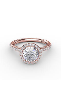 Fana Halo Engagement ring S3191 product image