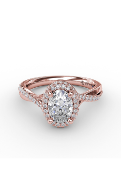 Fana Halo Engagement Ring S3195 product image