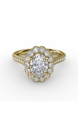 Fana Halo Engagement ring S3204 product image