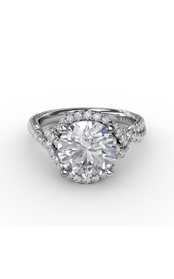 Fana Halo Engagement Ring S3266 product image