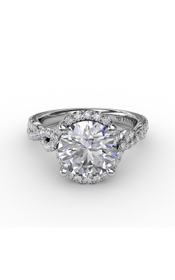 Fana Halo Engagement Ring S3267 product image