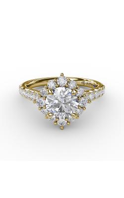 Fana Halo Engagement ring S3232 product image