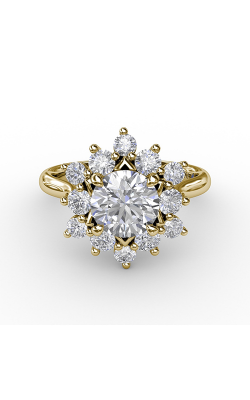 Fana Halo Engagement ring S3233 product image