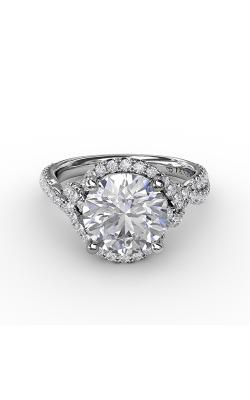 Fana Halo Engagement ring S3266 product image
