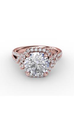 Fana Halo Engagement ring S3268 product image