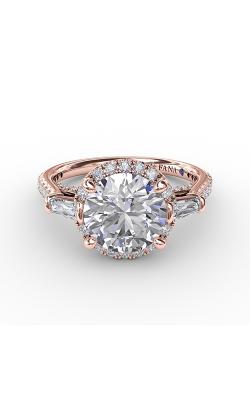 Fana Halo Engagement Ring S3278 product image