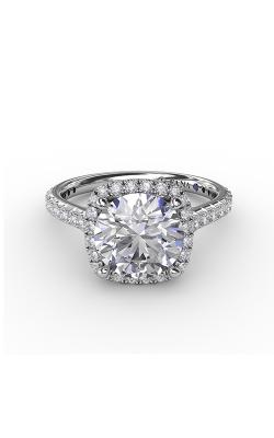 Fana Halo Engagement ring S3274 product image
