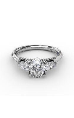 Fana Three Stone Engagement ring S3225 product image