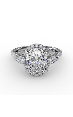 Fana Three Stone Engagement Ring S3280 product image