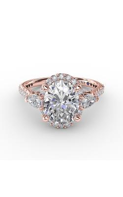 Fana Three Stone Engagement Ring S3280 product image