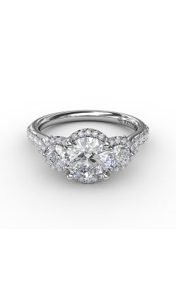 Fana Three Stone Engagement ring S3217 product image