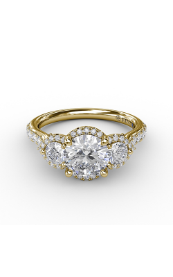 Fana Three Stone Engagement ring S3217 product image