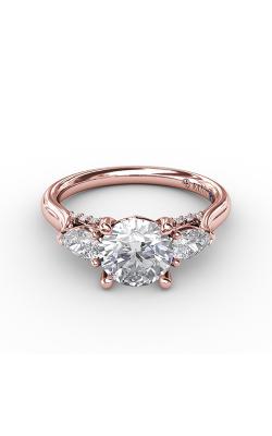 Fana Three Stone Engagement ring S3224 product image