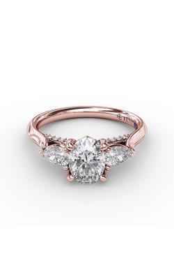 Fana Three Stone Engagement ring S3225 product image
