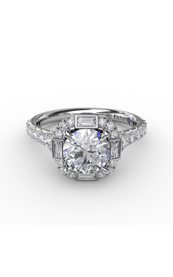 Fana Halo Engagement ring S3286 product image