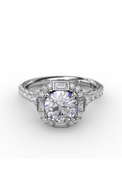 Fana Halo Engagement ring S3286 product image
