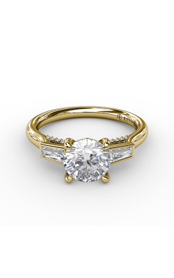 Fana Three Stone Engagement Ring S3299 product image