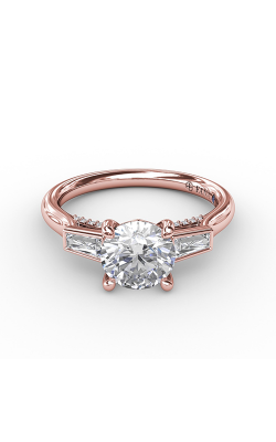 Fana Three Stone Engagement ring S3299 product image