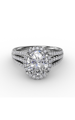 Fana Halo Engagement Ring S3307 product image