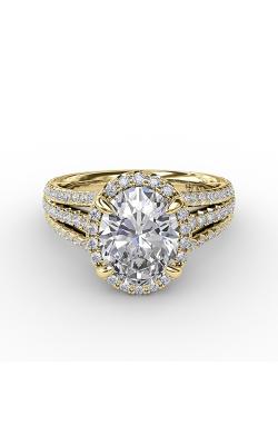 Fana Halo Engagement Ring S3307 product image
