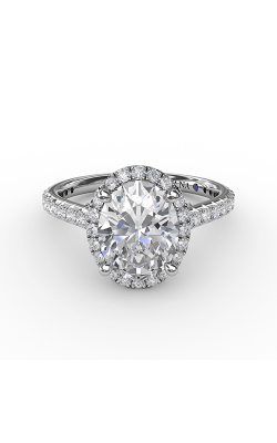 Fana Halo Engagement Ring S3313 product image