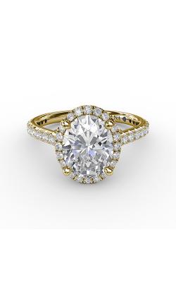 Fana Halo Engagement ring S3313 product image