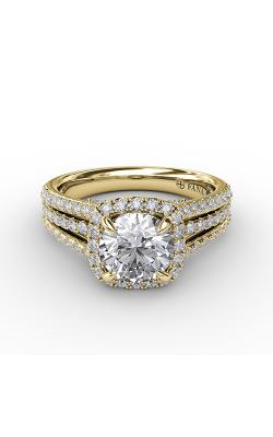 Fana Halo Engagement Ring S3315 product image