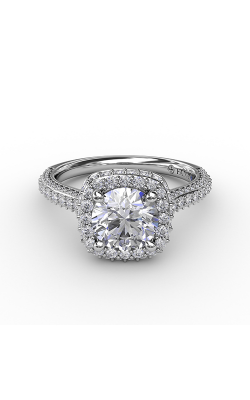 Fana Halo Engagement Ring S3335 product image