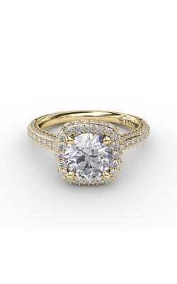 Fana Halo Engagement ring S3335 product image